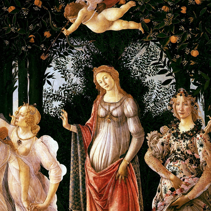 Allegoria della primavera - Botticelli (1478)