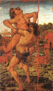 Ercole e Anteo - Pollaiolo (1475 )