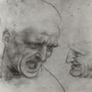 Studio per la Battaglia di Anghiari - Leonardo (1503)