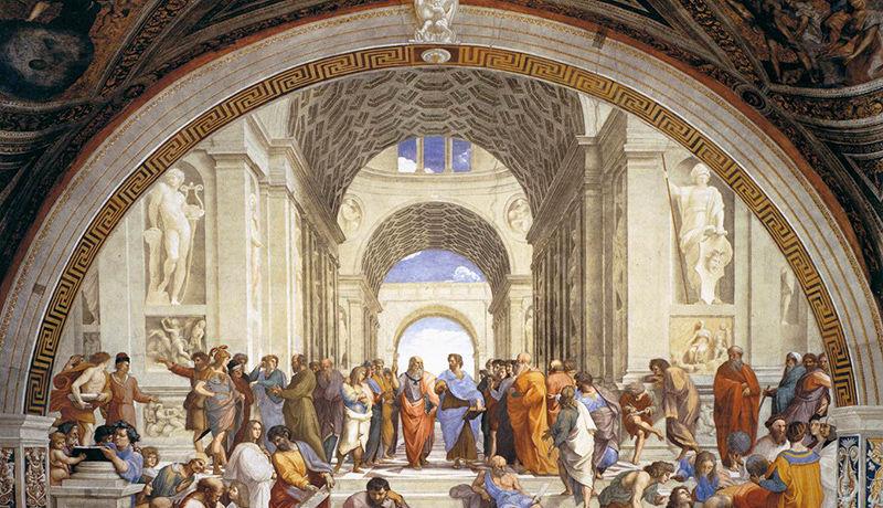 Scuola di Atene - Raffaello (1509-10)