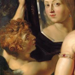 Venere allo specchio - Rubens (1615)
