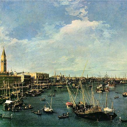 Bacino di San Marco - Canaletto (1740)