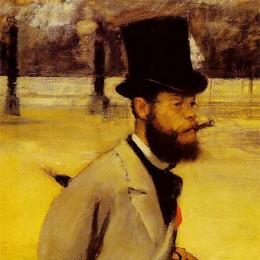 Place della Concorde - Edgar Degas (1875)
