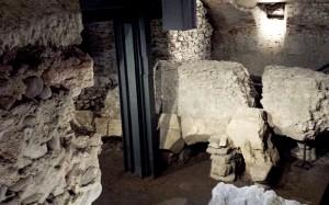 I resti archeologici del Criptoportico