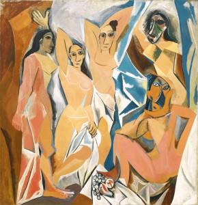 Les Demoiselles d'Avignon - Pablo Picasso (1907, Moma, New York)