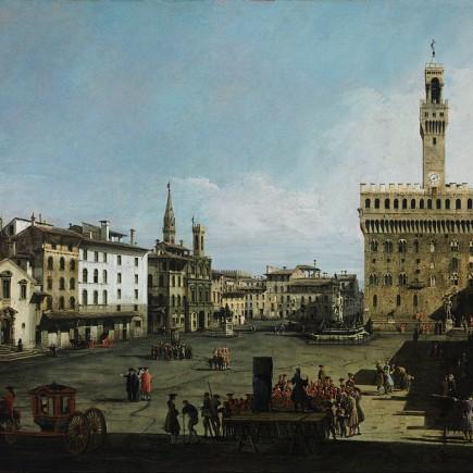 Bernardo Bellotto Piazza della Signoria, Firenze, 1742 ca.