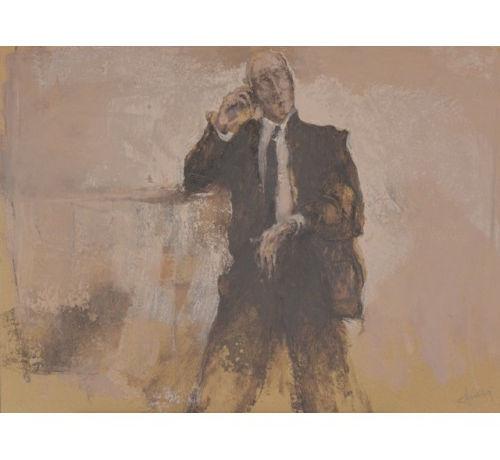 Uomo al telefono, Franco Chiarani