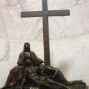 Deposizione di Cristo dalla croce; Bartolomeo Ferrari su esempio del gesso di Antonio Canova