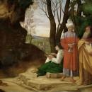 Giorgione,  I tre filosofi 1508 - 1509.