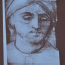 Giorgione, Radiografia particolare dell'uomo con il turbantetratto da  I tre Filosofi.