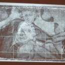 17 - Tintoretto, Riflettografia dell'Allegoria della Felicità.