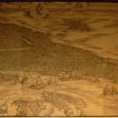 Jacopo de Barbari, mappa di Venezia a volo d'uccello, 1500. La sopracitata veduta di Venezia venne più e più volte aggiornata per cercare di riportare sempre un'immagine fedele della città. Però ad un certo punto si sono resi conto che era impossibile riuscire a stare dietro a tutti i cambiamenti di Venezia e decisero di far ritornare tutto alla versione originaria. Maaaaaaaaaaaa... si sono scordati di togliere l'angelo posto sulla cuspide del campanile di San Marco, quindi miracolosamente su Venezia aleggia un angelo.