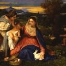 25 - Tiziano, Madonna del coniglio 1530.