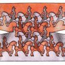 M.C. Escher, Cavalieri luglio 1946