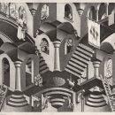 M.C. Escher, Convesso e concavo