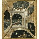 M.C. Escher, Altro mondo II (1947)
