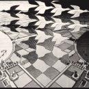 M.C. Escher, Giorno e Notte