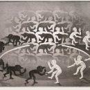 M.C. Escher, Incontro