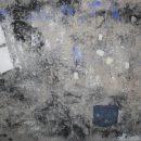 La notte la luna e il muro - I parete, cemento, 150 x 200 cm, 2016