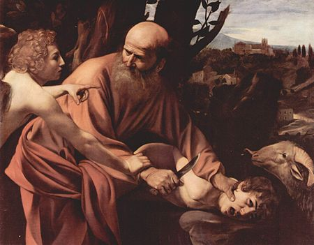 Michelangelo Merisi da Caravaggio: Sacrificio di Isacco, 1603