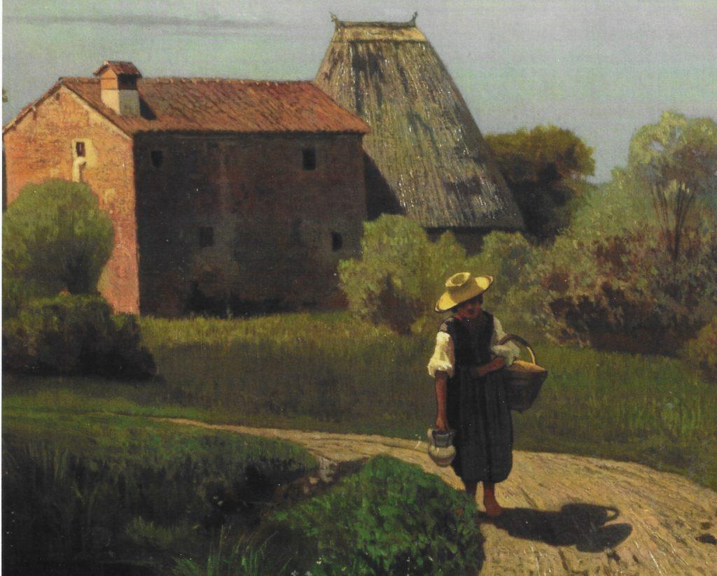 Guglielmo Ciardi, Mattino di maggio, 1869